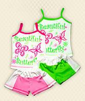 TM Dresko Комплект для девочки Софи: топ + шорты накат кулир (70087)