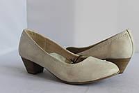 Женские кожаные туфли Tamaris 36, фото 1