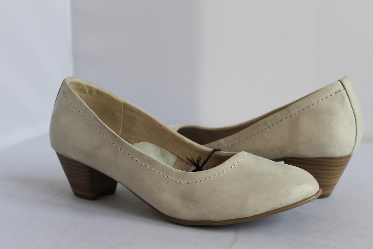 Женские кожаные туфли Tamaris 36