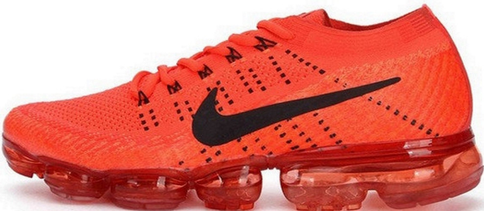 Кроссовки мужские Найк Nike VaporMax FLYKNIT Red . ТОП Реплика ААА класса.