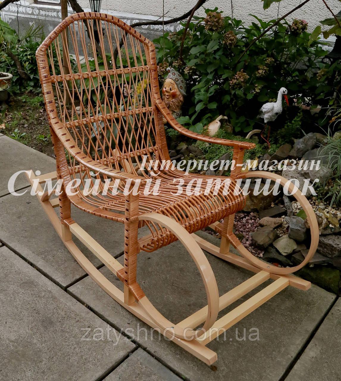 Кресло качалка буковая