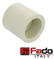 Муфта PPR 20 мм полипропиленовая FADO Италия
