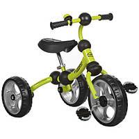 Велосипед M 3192-4  три кол.EVA ,рама-поворот,подшипн.,звоночек,салатов