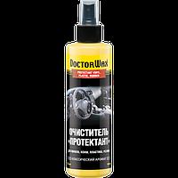 Очиститель «Протектант» для винила, кожи, пластика, резины классический аромат DoctorWax 236 мл.