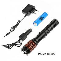 Электрошокер+фонарик POLICE