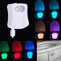 LED подсветка унитаза с датчиками освещенности и движения LightBowl (8 цветов)
