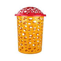 "Корзина для игрушек ""Сорренто"" 45л. (желтый) Альтернатива"