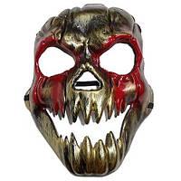 Маска на Хэллоуин - Злобная Тыква с кровью