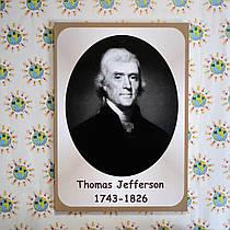 Портреты английских поэтов и писателей Thomas Jefferson