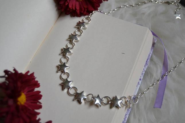 Колье с  покрытием стерлингового серебра Pilgrim, фото 2