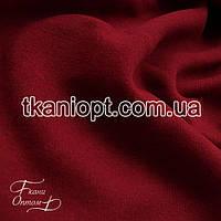 Ткань Трехнитка с начесом Турция (бордовый)
