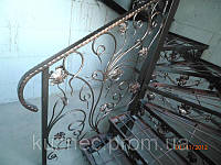 Лестница на 2эт. с забежными ступенями
