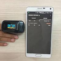 Беспроводной пульсоксиметр с Bluetooth 4. 0 с клипсой на палец, SPO2 PR PI