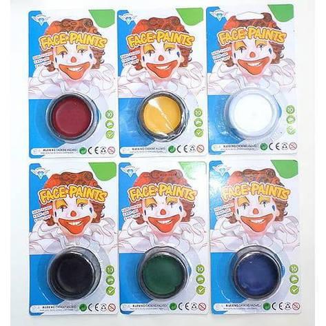 Грим краска для карнавала FACE-PAINTS, фото 2