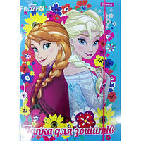 """Папка для тетрадей картоная В5 """"Frozen"""""""
