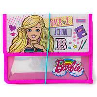 """Папка для тетрадей пласт. на резинке В5 """"Barbie"""""""