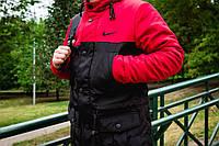 Мужская стильная куртка-парка с наполнителем Slimtex 150. Сезон: весна/осень (до -5 С). Код: ПВ002/850