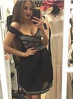 Вечернее платье расшитое бисером