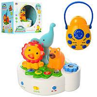 Музыкальная развивающая игрушка Проектор8505-2 , музыка, звуки природы, таймер, свет, регулятор громкости