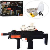 Автомат 6618A-1  аккум, 41см, водяные пули, USBзарядное, очки, в кор-ке, 46,5-27,5-6,5см
