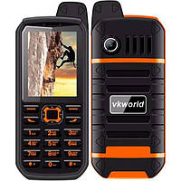 Защищенный телефон VKworld Stone V3 Plus Orange 4000 мАч ip54 MTK6261