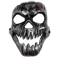 Маска на Хэллоуин  Злобная Тыква-череп