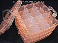Органайзер раскладной для рукоделия и творчества на 18 ячеек