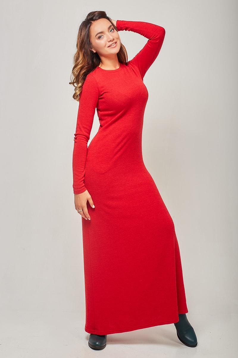 Купить Облегающее Платье С Длинным Рукавом