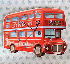 Часы настенные Лондонский автобус