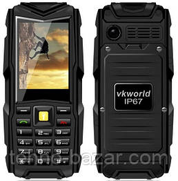 Защищенный телефон VKworld Stone V3 Black 3000 мАч ip67 Spreadtrum SC6531DA 3 SIM