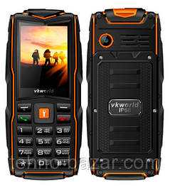 Защищенный телефон VKworld Stone V3 Orange 3000 мАч ip67 Spreadtrum SC6531DA 3 SIM