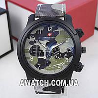 Мужские кварцевые наручные часы Swiss Army M60
