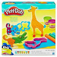 Уценка! Игровой набор Play-doh Веселое Сафари. Оригинал Hasbro B1168