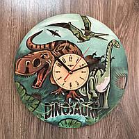 Цветные детские настенные часы Эпоха динозавров, фото 1