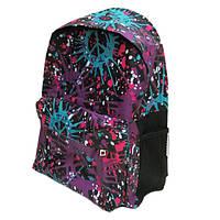 """DSCN0615-B-2 Рюкзак с карманом """"Воображение"""" фиолет., 42х30х13см"""