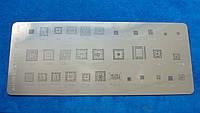 BGA шаблоны трафарет MTK PM A428 32шт в 1. Pm8941, Sc6531, Mt6223, 8851A, MT6225A, 8853A, Pm8110, Pm8029, MT61
