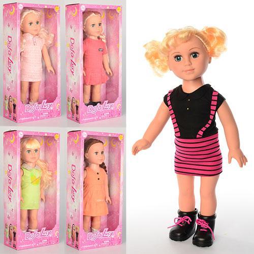 Кукла DEFA 5502  46см, 5видов, в кор-ке, 49-22-11,5см