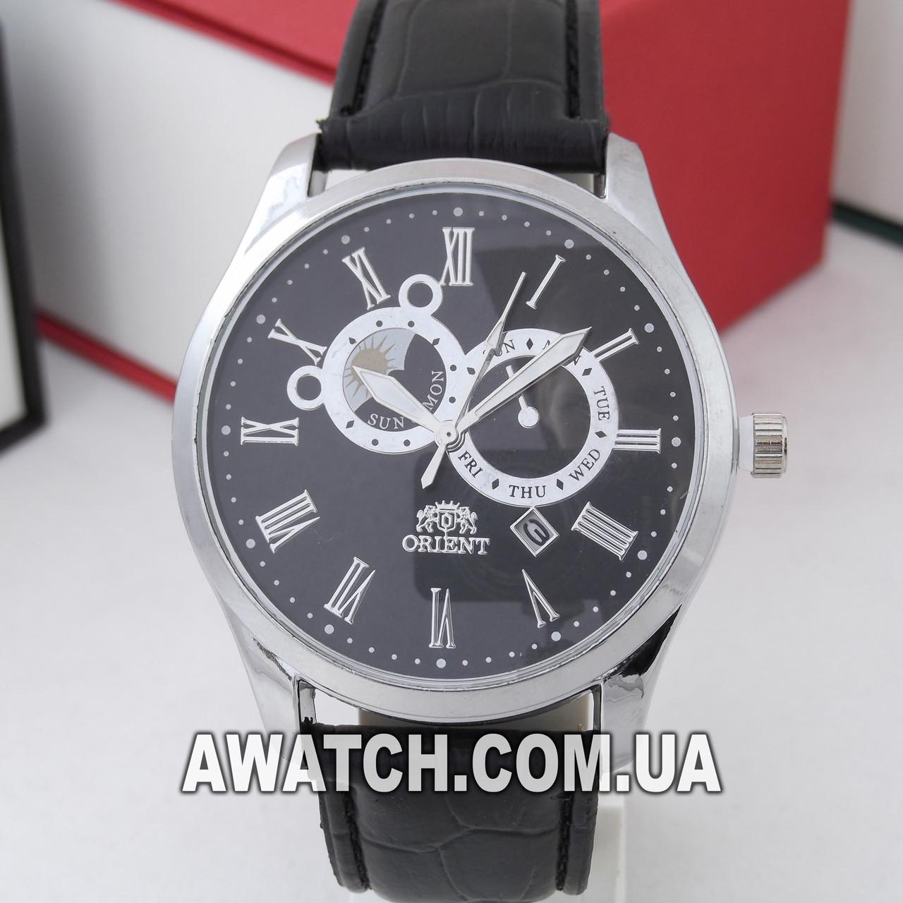 Купить кварцевые наручные мужские часы orient