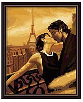 Рисование по номерам Картина серии Люди, Мечтать в Париже, Идейка