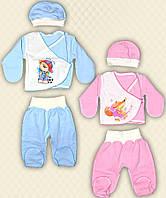 TM Dresko Набор для новорожденных начес (50036)