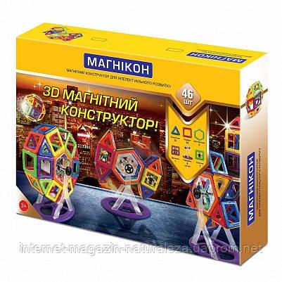 Магнитный конструктор Магникон 46 деталей, фото 2