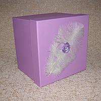 Коробка квадрат L 19 x 19 x 19 см