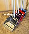 Веник с совком на длинной ручке 165  Zambak Plastik, Турция, фото 2