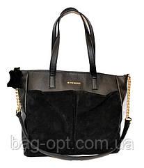 Женская сумка  замша
