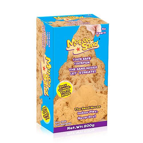 Песок для творчества MS-800G-P  800г, розовый, в кор-ке, 10-19-6,5см