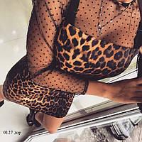 Платье хит сезона лео 0127 дор