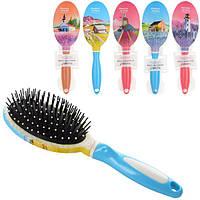 Аксессуары для волос 9551  расческа, 24,5см, микс видов, в кульке, 9,5-30-4см