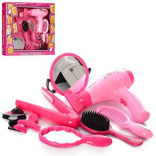 Набор парикмахера HC111A  фен-на бат,зеркало,расческа,заколочки,в кор-ке,35,5-30,5-5см