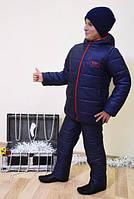 Куртка детская зимняя для мальчика Стив 98-104-110-116см.