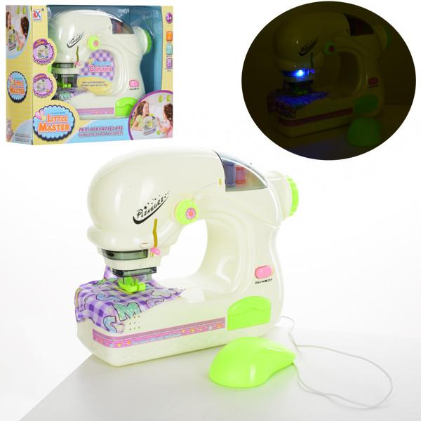 Швейная машинка 6944A  23см, шьет, педаль упр, свет, на бат-ке, в кор-ке,32-23-10см